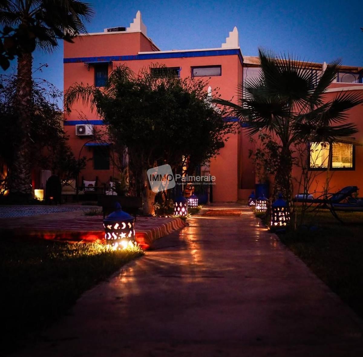 Très jolie fermette à vendre route de Ouarzazate