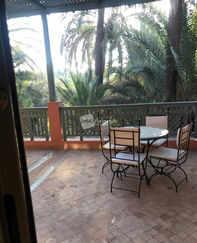 Bel appartement 2 chambres à la palmeraie - location longue durée